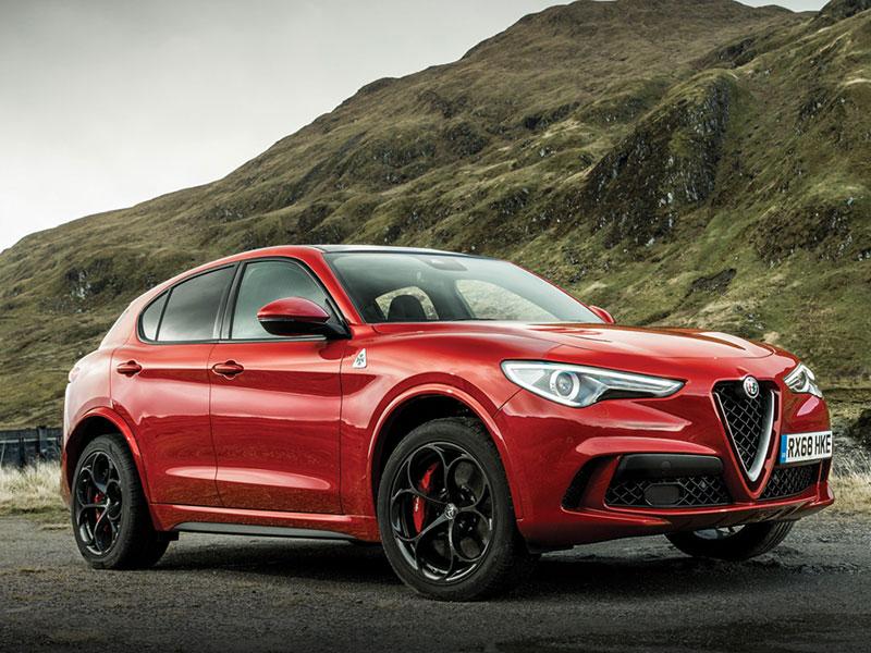 Alfa Romeo Stelvio sport SUV