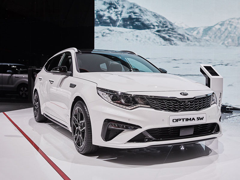 KIA Optima udvendig design