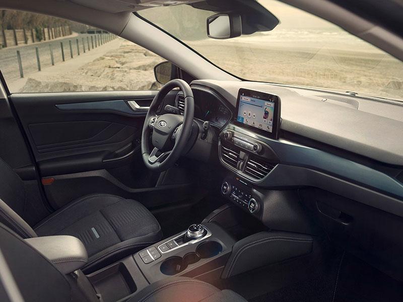 Indvendig i Ford Focus