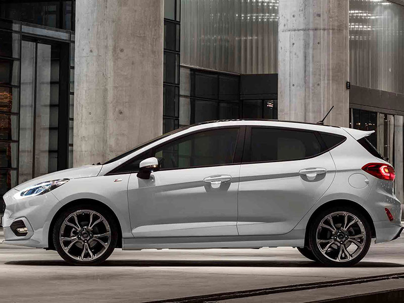 Ford Fiesta udstyrs varianter