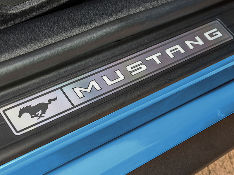 Ford Mustang sikkerhed
