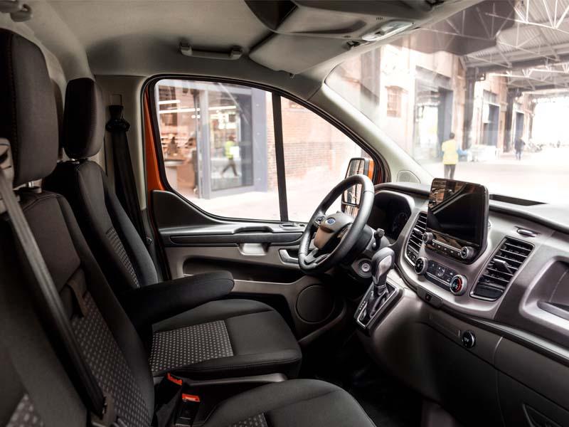 Ford Transit Custom interiør