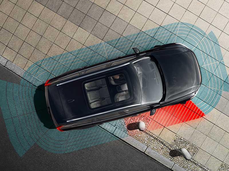 Volvo V90 Sikkerhed