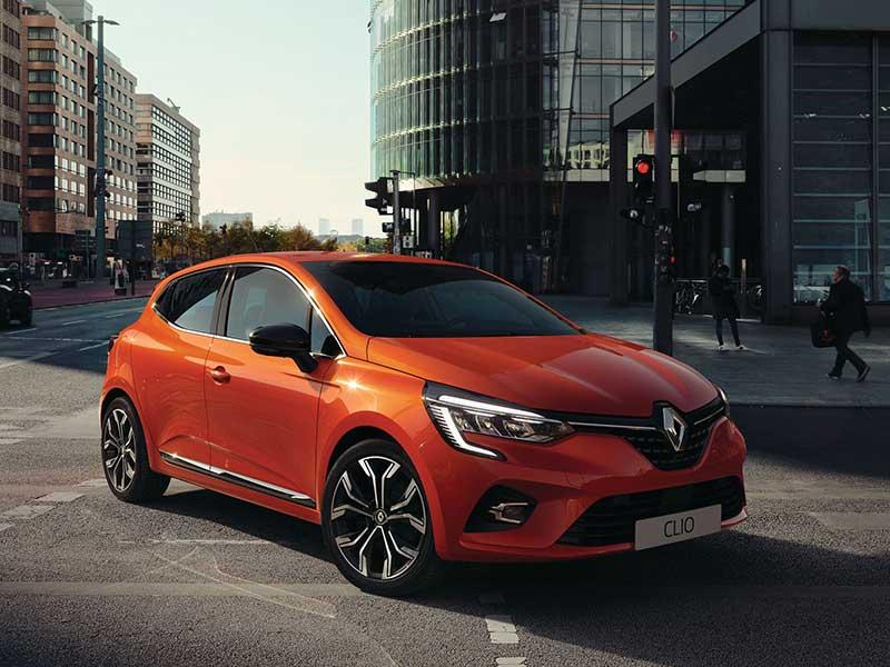 Renault Clio udvendig design