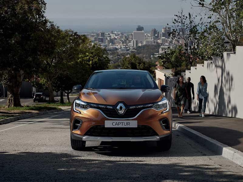 Hverdagen i Renault Captur
