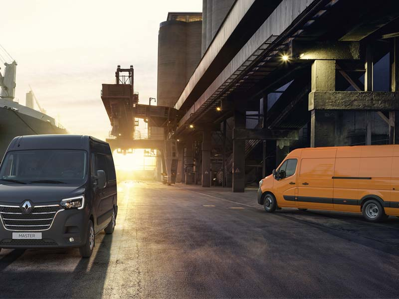 Hverdagen i Renault Master
