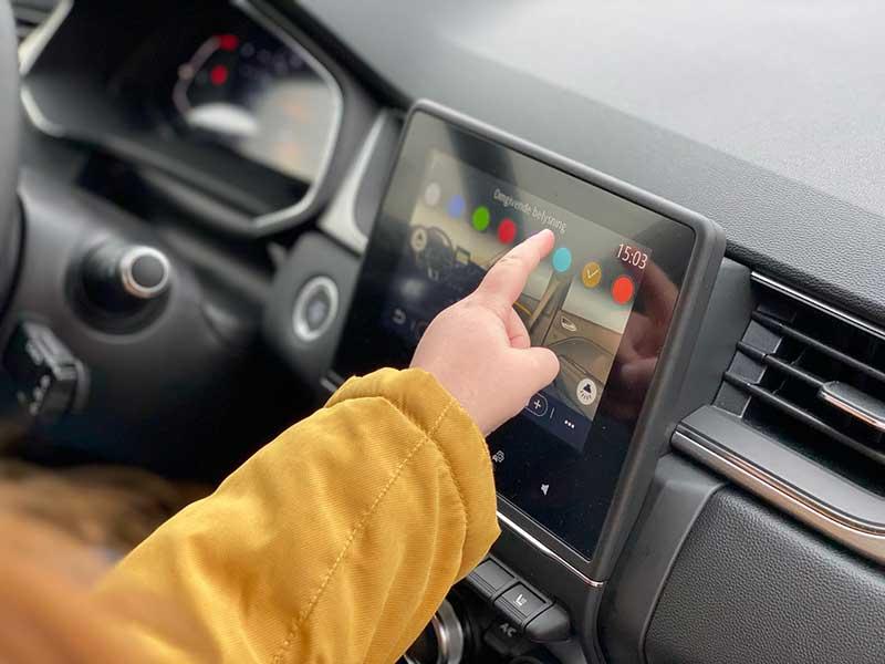 Renault Captur indvendig
