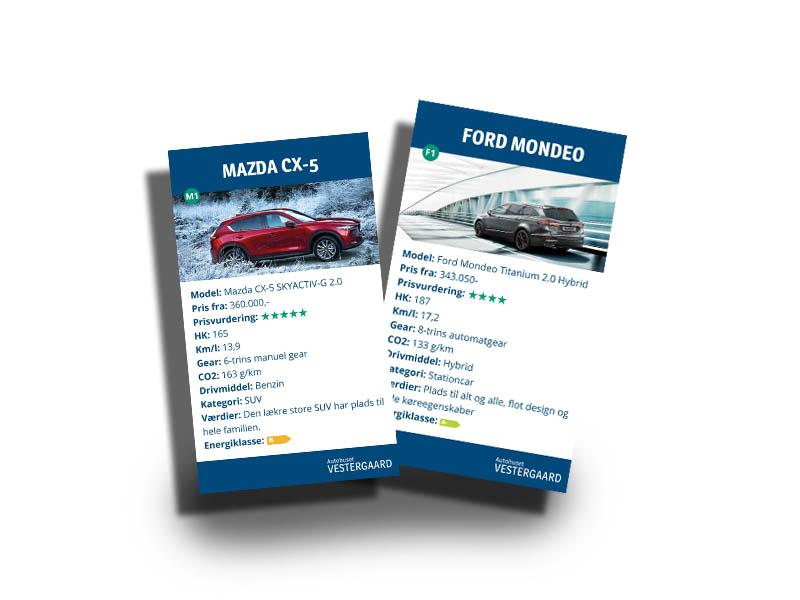Bilkort Autohuset Vestergaard