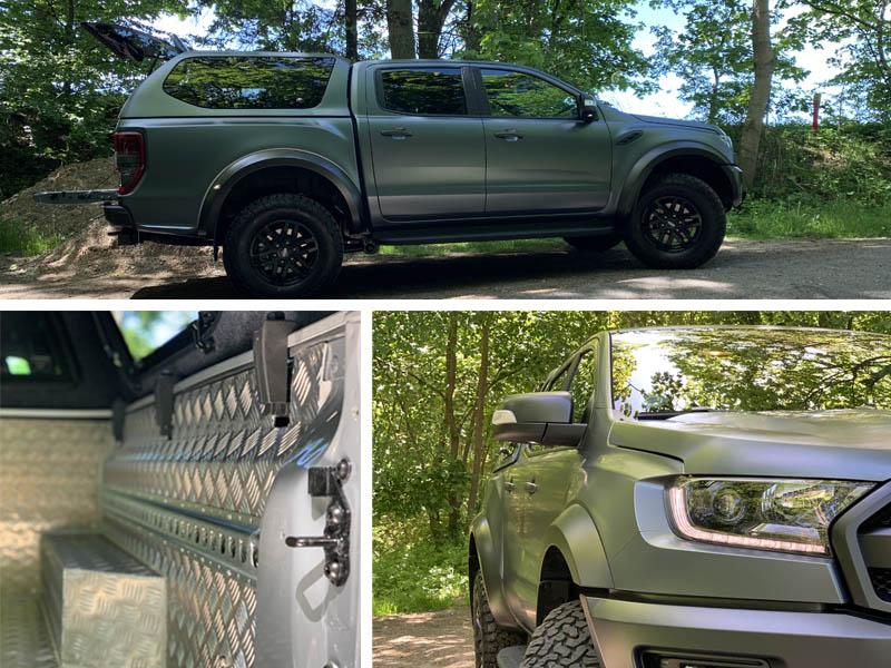 Ford Ranger opbygning