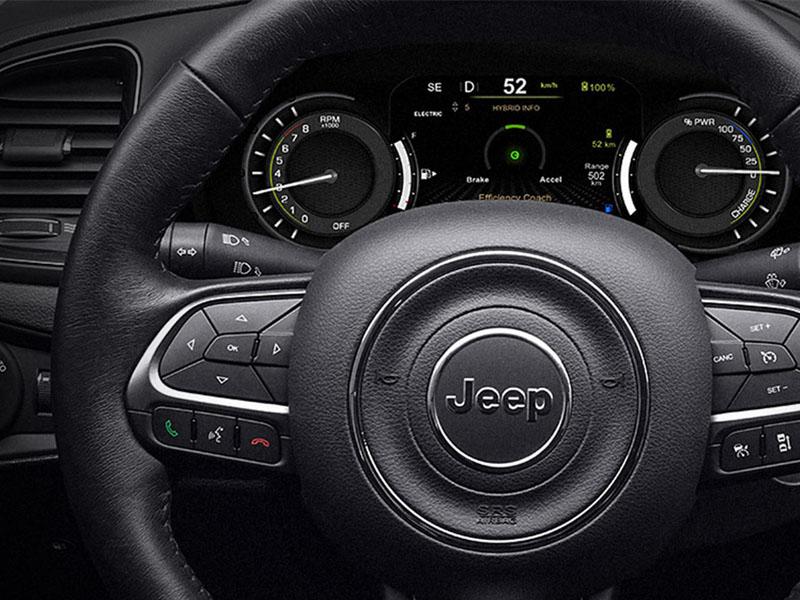 Jeep interiør
