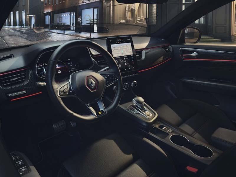 Renault Arkana interiør