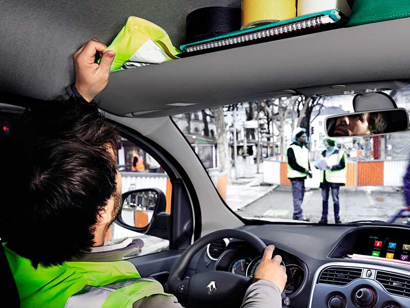 Tyveri i Renault Kangoo